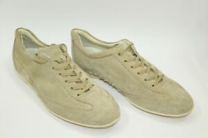 TOD'S men shoes sz 9 Europe 43 BEIGE SUEDE leather S8341