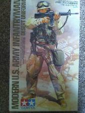 Tamiya 1/16, Modern U.S. Army Infantryman (Desert Uniform) Kit NO.8