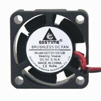 DC 24V Brushless Cooling Fan 25mm 25x25x10mm 2510 Cooler Heatsink 2510 Radiator