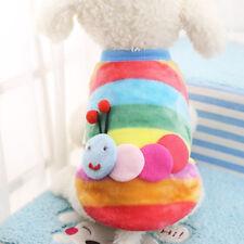 Size:XL Cute Animal Colorful Coral Fleece Pet Dog Clothes Pet Supplies