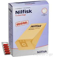 5 x nilfisk origine sacs pour série GD1000 aspirateur hoover + fresh