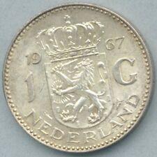 Nederland / Netherlands KM-184 1 gulden 1967 XF