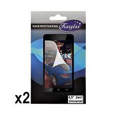 Pack de 2 Films de Protection à découper Universel S dimensions max 5,7cm x 10cm