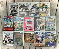 Lot Of Wii Games, Nintendo Wii, Wii