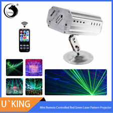 Mini Laser Pattern Projector Stage Light Strobe Party Show Xmas Birthday Lamp