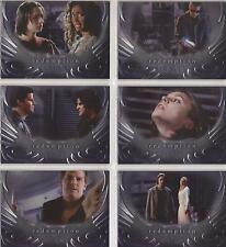 "Angel Season 4 - ""Redemption"" Set of 6 Chase Cards #R1-6"
