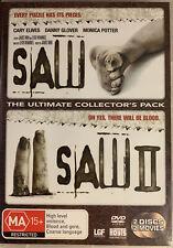 Saw  / Saw (DVD, 2006, 2-Disc Set)