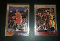 2019-20 NBA Hoops Premium Stock Coby White Rookie Card RC #204 Bulls lot tribute