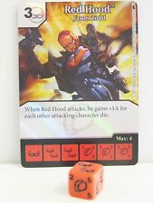Dice Masters - #029 Red Hood Jason Todd Foil - Batman