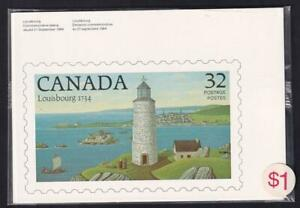Canada 1984 Lighthouses, 4 unused postcards, sealed package