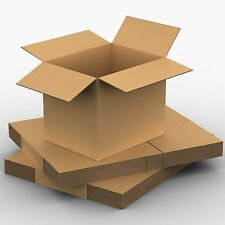 10 x Packing Moving Boxes 382 x 290 x 340 Cardboard Carton Removalist Carry Box