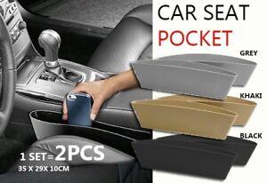 Car Seat Side Pocket, Universal Car Seat Catcher Gap Filler Organizer  Side Pock
