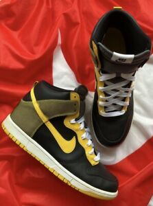 Nike Dunk High North Black/Varsity Maize