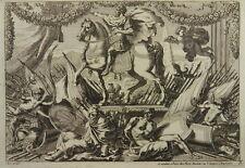 JEAN LEPAUTRE 8x RADIERUNG ORNAMENT HERMEN ORNAMENTSTICH ETCHING 1660 I54