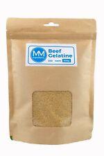 BEEF Gelatine Powder 500G. 240 Bloom. Unflavoured powdered gelatine. Gelatin