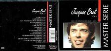 Jacques Brel cd album - Master Serie Vol.2