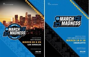 2018 MEN'S BASKETBALL PROGRAM SET CHARLOTTE + LOS ANGELES REGIONAL FINAL FOUR