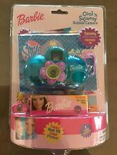 Nib Barbie Cool N Squeezy Bubble Jelly Camera Purple W Kodak Film