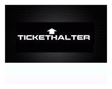 Tickethalter Autoaufkleber, Sticker, Aufkleber, Audi ,Opel, BMW 15,5x 2,5cm