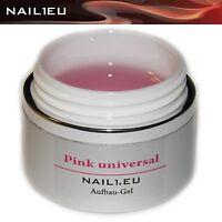 """PROFI Aufbau-Gel UV rosa glanz """"NAIL1.EU PINK Universal"""" 40ml Builder Aufbau Gel"""