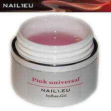 PROFESSIONALE UV GEL COSTRUTTORE ROSA LUCIDO nail1.eu FUCSIA UNIVERSALE 110ml