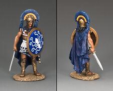 King and Country Antica Grecia Hoplite UFFICIALE CON SPADA ag28 ag028