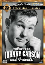 The Best of Johnny Carson and Friends (DVD, 2008, 4-Disc Set) - NEW!!