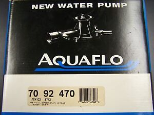NIB New Water Pump USA 70-92-470 fits Ford Bronco II 2 Ranger Merkur Scorpio
