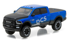 2017 DODGE RAM 2500 MOPAR BLUE PICKUP TRUCK ALL TERRAIN 1/64 GREENLIGHT 35050 F