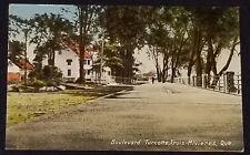 1910/20's - TURCOTTE BOULEVARD - TROIS-RIVIERES, QUE, CANADA - POSTCARD