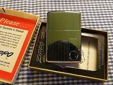 ZIPPO ENGINE TURNED LIGHTER 1965