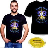 edel & witzig: ein tolles T-Shirt zum 40./50.Geburtstag (Geburtstags - FunShirt)