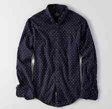 NWT【 L 】American Eagle AEO MEN'S Dobby Button Down Shirt