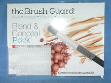 THE BRUSH GUARD Blend & Conceal Pack 8 Small CLEAR Brush Guards