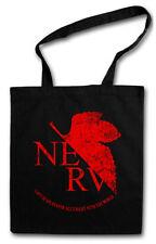 NERV STOFFTASCHE Neon Gehirn Genesis Organisation Seele Evangelion Ikari Logo