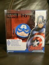 *New* Marvel iHome Avengers Captain America Bluetooth Speaker Vi-B66CA.FX