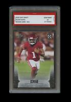 JALEN HURTS 2020 LEAF DRAFT 1ST GRADED 10 ROOKIE CARD RC NFL PHILADELPHIA EAGLES