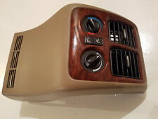 2004-2006  Acura MDX Rear Climate Control with Tan Bezel Trim