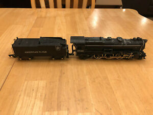 American Flyer Train 312 AC 4-6-2 Diecast Steam Locomotive & Tender w/smoke RUNS