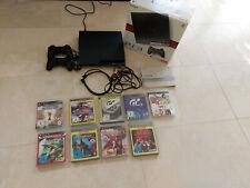 Sony Playstation 3 inkl 2 Controllern, 9 Spielen und OVP