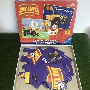 Ravensburger Brum Car Childrens TV Jigsaw Puzzle 20 Piece Reversible Complete