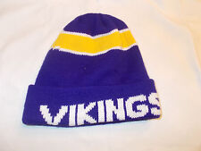 VTG-1980s Minnesota Vikings Beanie Winter Ski Toque Knit hat