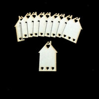 Wooden Beer Bottle Shapes 4mm birch ply wood craft Blank cut outs embellishment