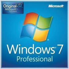 Windows 7 Pro Professionnel clé du produit  32/64 bit complète