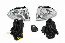 04-05 Honda Civic ES EM 2/4 Door JDM OE Clear Fog Light Kit+ Harness Complete