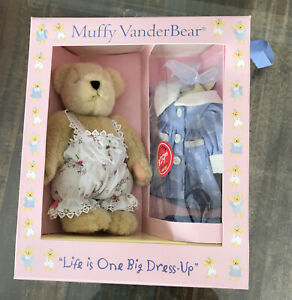 Muffy Vanderbear ~ Life is one big Dress up Bear and Outfit - New in Box (A)