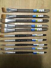 "5 Princeton Watercolor Brush Aqua Elite 1"" #M4850W and more Lot"