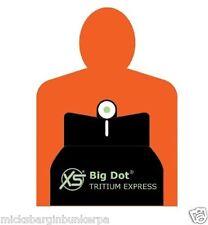 XS Sight Systems BIG Dot White Stripe Sight Glock 42 Green w/White Outline