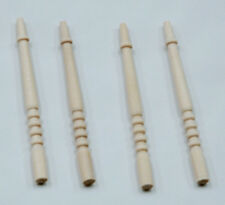 1/12 Dolls house Miniature diy 4 x Stairs Spindles real wood Staircase Stair LGW
