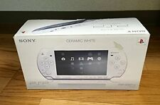 PSP Ceramic White Console System Japan Playstation *COMPLETE - GREAT CONDITION*